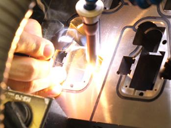 今井技巧のレーザー溶接・肉盛り